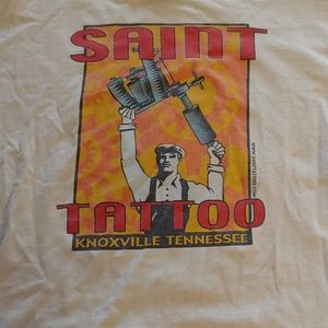 Tattoo shop shirt large